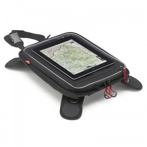EA112 Tablet holder with removable magnets for the tank GIVI