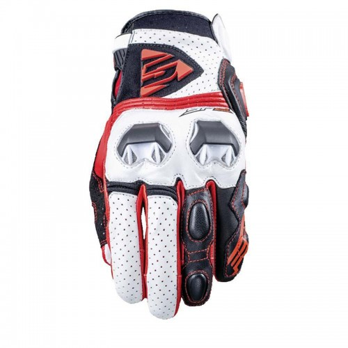 Five Gloves SF2 white-red