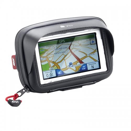 Βάση τιμονιού S952B για GPS smart phone & τσαντάκι uni GIVI