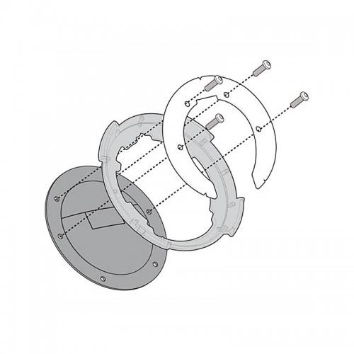 BF07 Σύστημα κλειδώματος σάκου στο ρεζερβουάρ GIVI