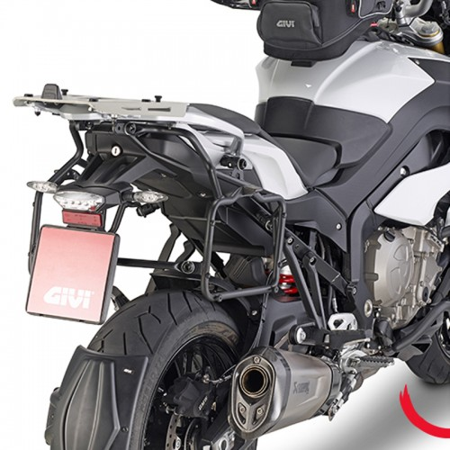 PLR5119 QUICK RELEASE PANNIER RACK FOR BMW S 1000 XR GIVI