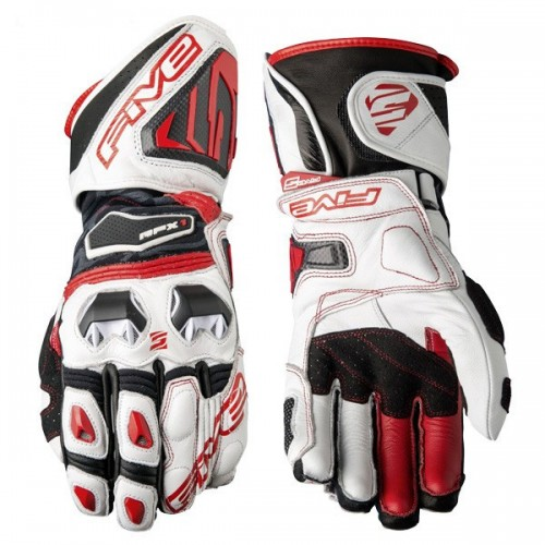 Five Gloves RFX1 white-red