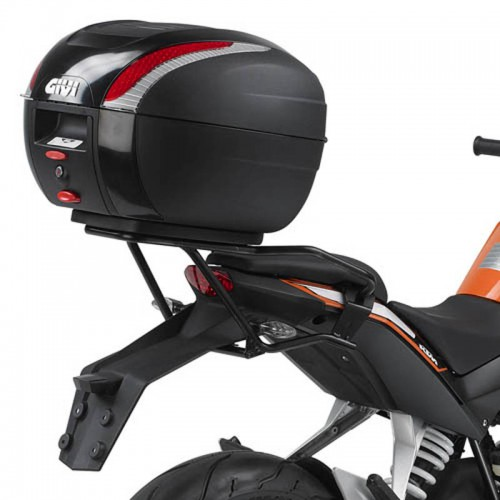 sr7701 top box rack for ktm duke 125 200 390 givi moto. Black Bedroom Furniture Sets. Home Design Ideas
