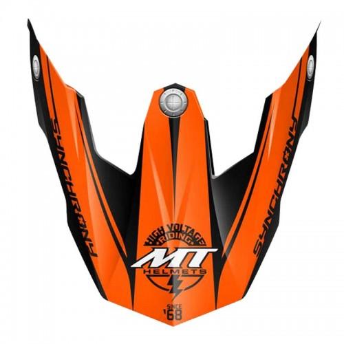 Γείσο MT Synchrony 100-631 μαύρο-άσπρο-πορτοκαλί