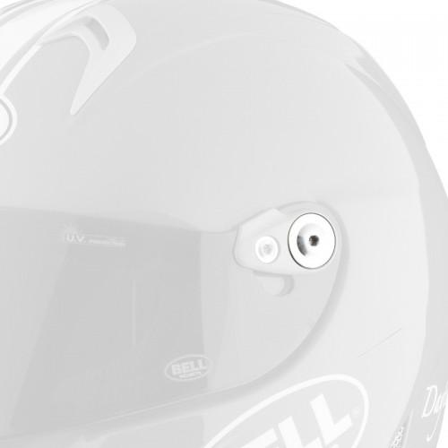 Bell M5X silver visor Screws