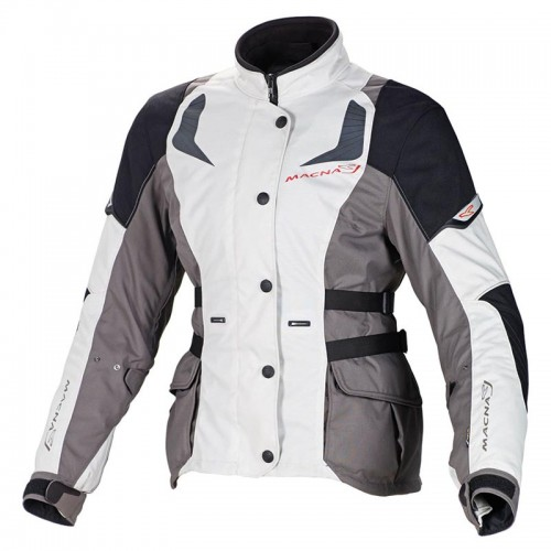 Nova lady h2out jacket, grey-black - MACNA