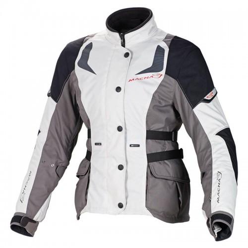 Nova lady h2out jacket, grey-black - MACNA