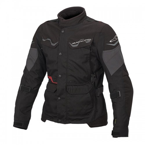 Mountain 4 season jacket, black - MACNA