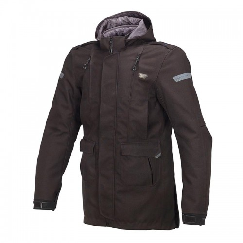 Harvard 4 season jacket, black - MACNA
