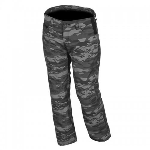 Παντελόνι jean MACNA G-03 μαύρο-camo