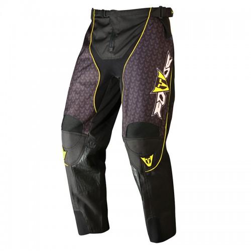 Παντελόνι ΜΧ Fovos μαύρο-κίτρινο neon