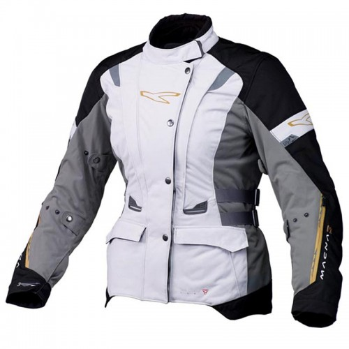 Lily lady h2out jacket, grey-black - MACNA