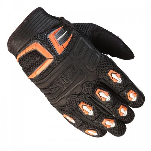 Γάντια Fovos Mx Rider μαύρο-πορτοκαλί