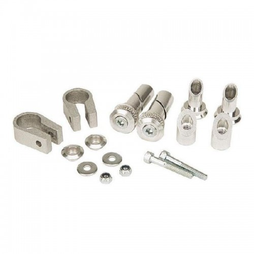 9665 Standard mounting kit for 0528 rully brush Acerbis