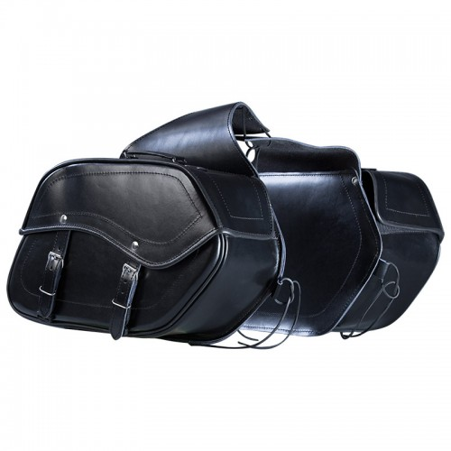 SADDLE LEATHER BAGS - NORDCAP