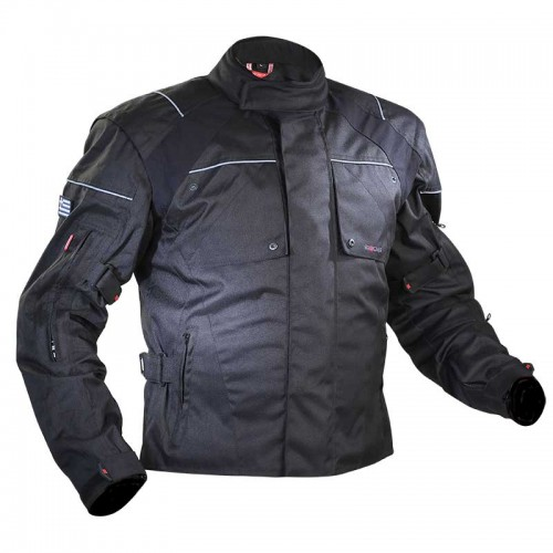 6Days WR jacket black - NORDCAP