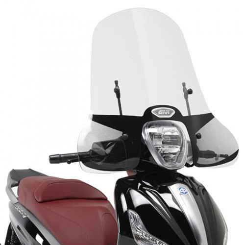 5606A WINDSCREEN PIAGGIO BEVERLY 125ie/300ie / 350 SPORT TOURING GIVI