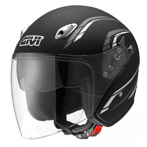 20.6 FIBER-J2 PLUS Matt Black - GIVI