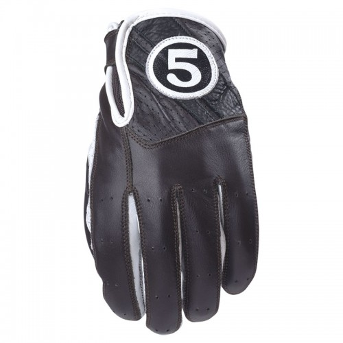 Gloves TEXAS Brown / White - FIVE