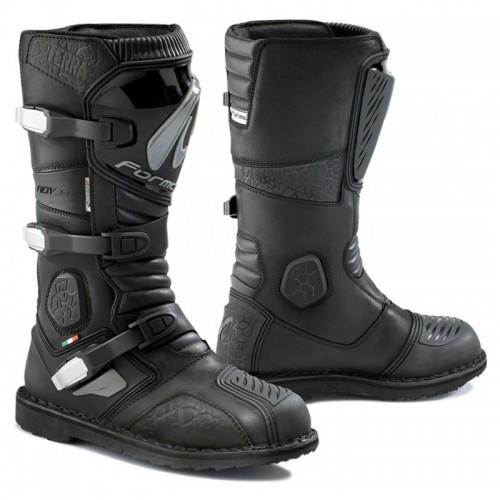 Μπότες Forma Terra δέρμα μαύρες