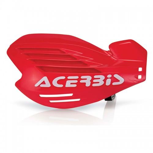 13709 X-FORCE HANDGUARDS Red ACERBIS