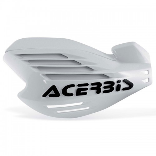 13709 X-FORCE HANDGUARDS White ACERBIS