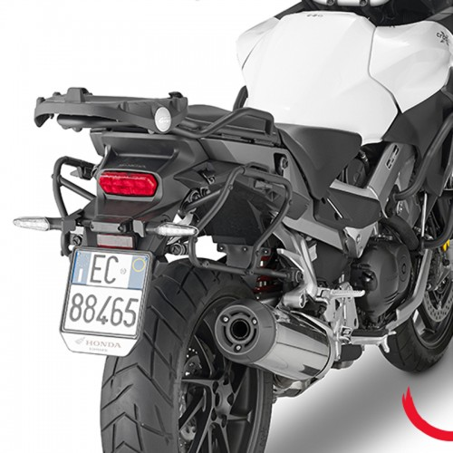 PLXR1139 QUICK RELEASE PANNIER RACK FOR HONDA CROSSRUNNER 800 GIVI