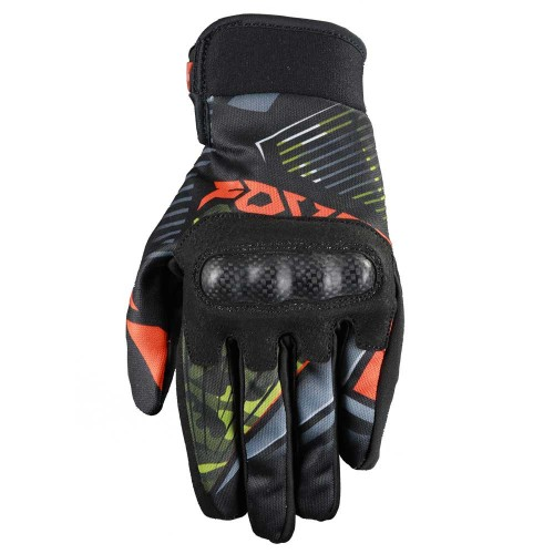 Gloves MX ATLAS black/orange  -  FOVOS