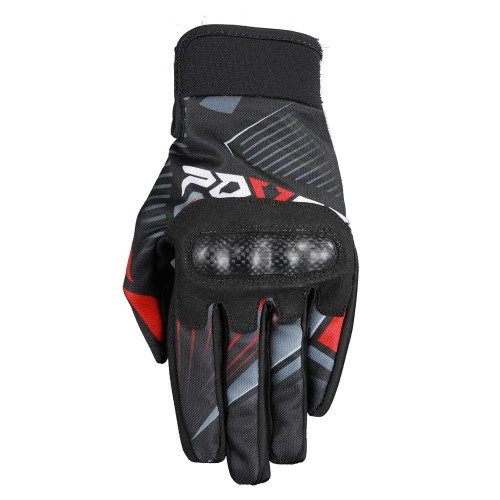Gloves MX  Atlas black/red  -  FOVOS