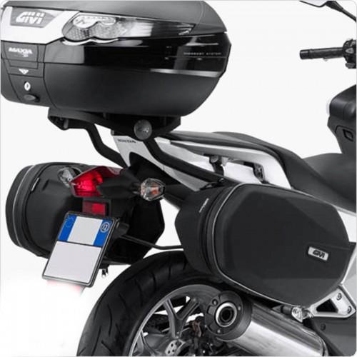Βάσεις πλαϊνών σάκων TE1109_Integra 700'12 Honda Givi