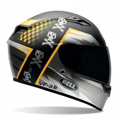 Kράνος Bell Qualifier Airtrix Battle μαύρο-κίτρινο