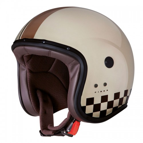 Caberg Jet Freeride Indy cream/brown