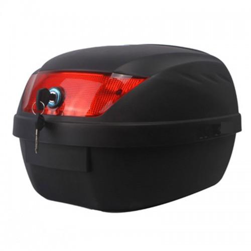 Βαλίτσα Pilot Bag 28 μαύρη-κόκκινο αντανακλαστικό
