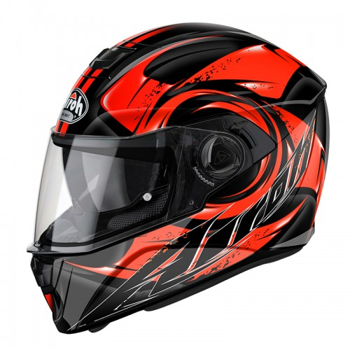 HELMET STORM ANGER ORANGE AIROH