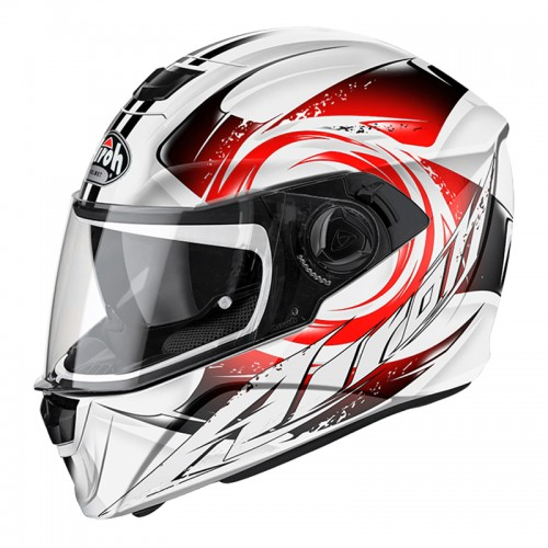 HELMET STORM ANGER RED AIROH