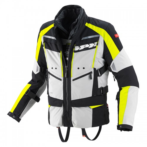 SPIDI 4Season Jacket black-grey-fluo