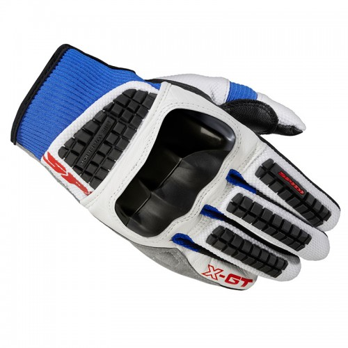 X-GT TEXTILE GLOVES white/blue - SPIDI
