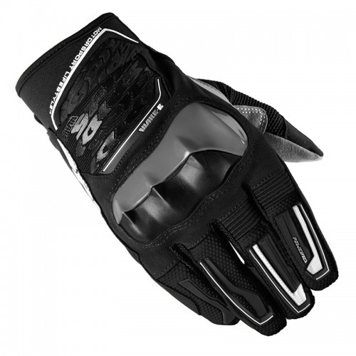 WAKE EVO TEXTILE GLOVES black/white - SPIDI