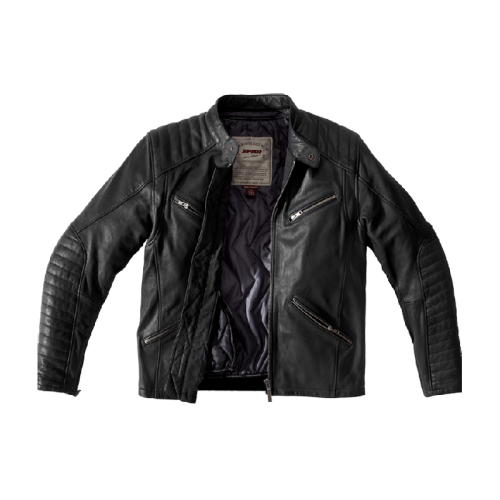 SPIDI METAL leather jacket