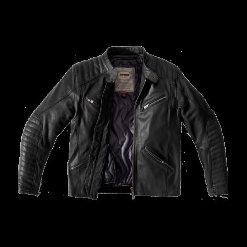 SPIDI METAL leather jacket