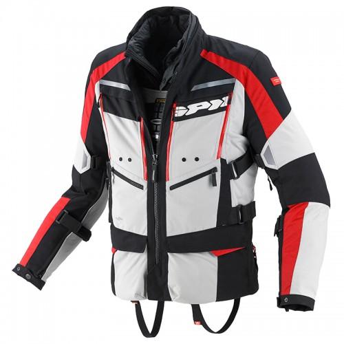 Jacket Spidi 4Season grey-red