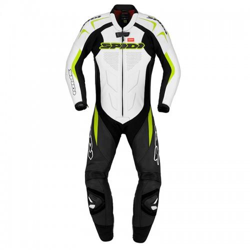 Φόρμα ολόσωμη SPIDI Supersport Wind Pro fluo-άσπρο-μαύρο