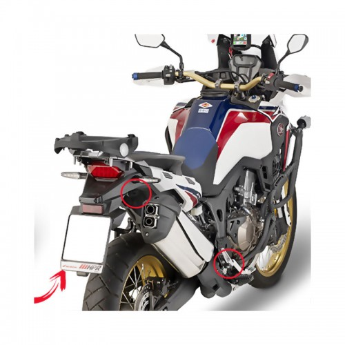 PLR1144  MONOKEY side case holder CRF1000L Africa Twin (16) GIVI
