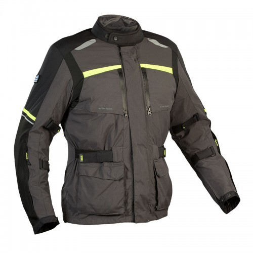 Adventure 4season jacket Anthracite-Fluo  |  NORDCAP