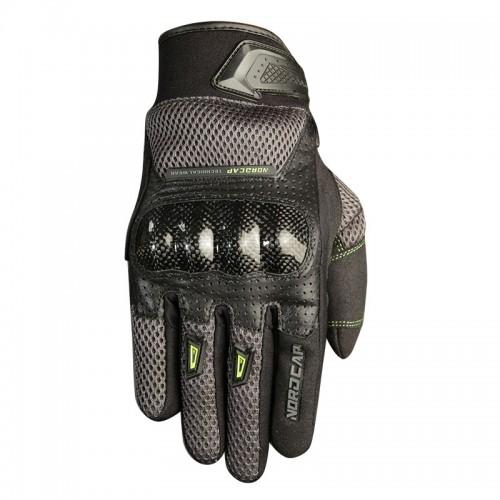 Γάντια Nordcode Tech Pro γκρί-fluo