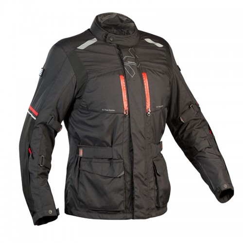 Adventure 4season jacket black-red - NORDCAP