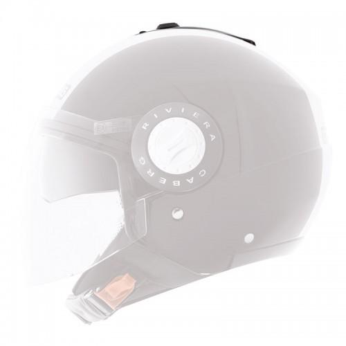 A5896  Sun visor lever  & top vent black, for Riviera V2-3   Caberg