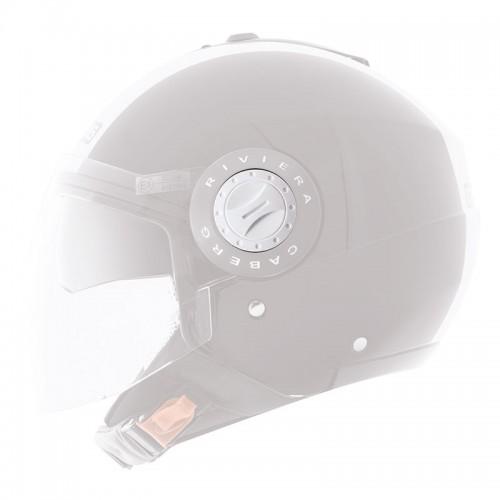 A5838  Visor kit for Riviera V2-3,  white, Caberg