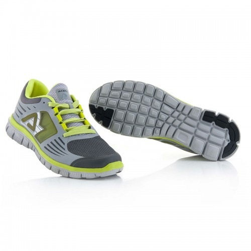 17806.290 CORPORATE RUNNING SHOES Grey/Fluo Yellow ACERBIS