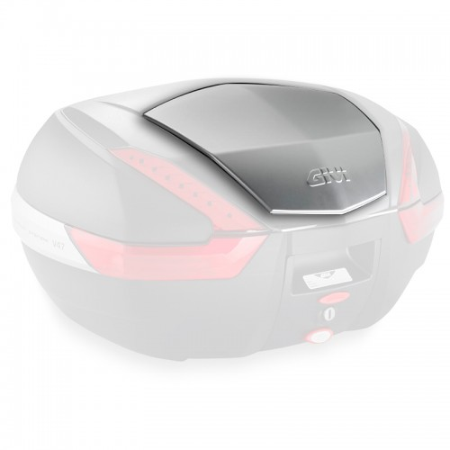 Z4706OXCR Top central aluminum small cover for V47 givi